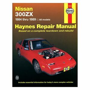 1984-1989 Nissan 300ZX Haynes Repair Manual