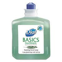 Dial Basics Foaming Hand Soap Refill 1000ml Honeysuckle 06060