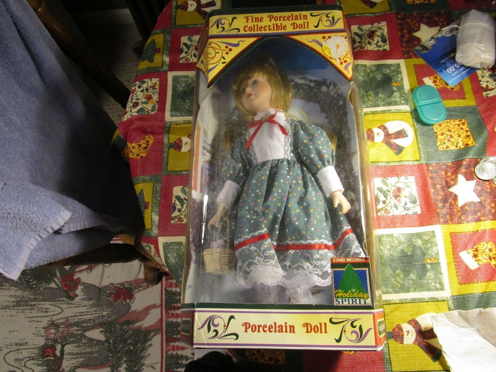 VNT Holiday Spirit McCrory Stores Limited Edition Fine Porcelain 16  Doll~RARE
