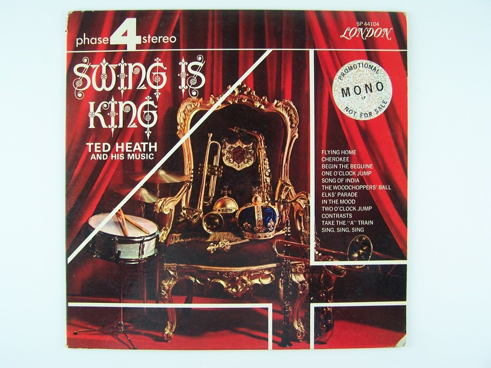 Ted Heath And His Music - Swing Is King Vinyl LP Record