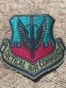21014k-Vintage-TAC-TACTICAL-AIR-COMMAND-USAF-AIR-FORCE-PATCH