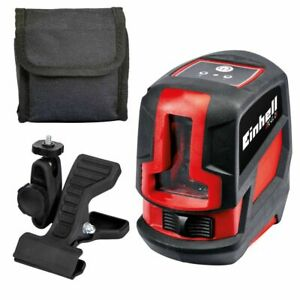 Einhell-Cross-Laser-Level-TC-LL-2-Red-Walls-Floors-Ceiling-Workpieces-2270105