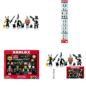 roblox robot riot mix match 4 action figure pack includes 4