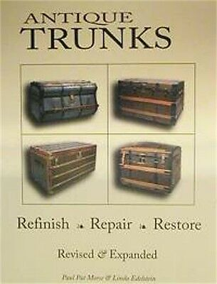 200 page Antique Trunk Restoration BOOK   A0040