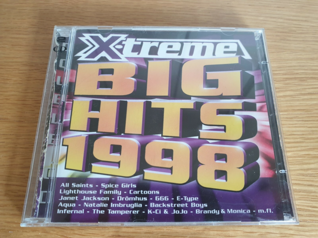 Diverse Kunstnere: X-Treme BIG HITS 1998, electronic, /Hip…
