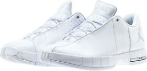 98b0a11060d Men's Air Jordan Team Elite 2 Low White/Silver 8-12 New In Box ...
