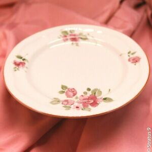 GIBSON-China-Roseland-Discontinued-7-034-Salad-Dessert-Plate-Lot-of-4