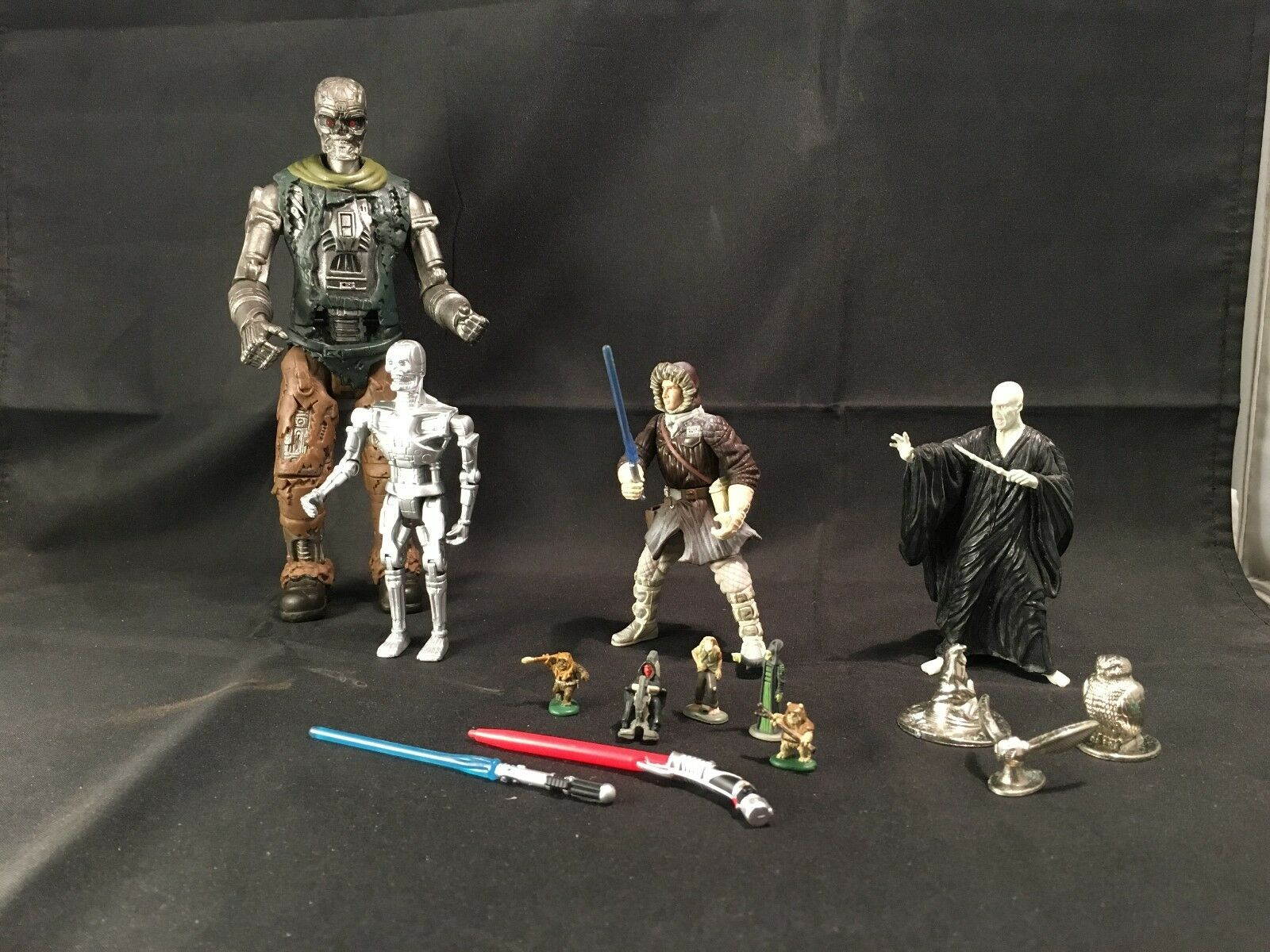 Star Wars / Terminator / Harry Potter  Collectable  Toys – Set of 15 items