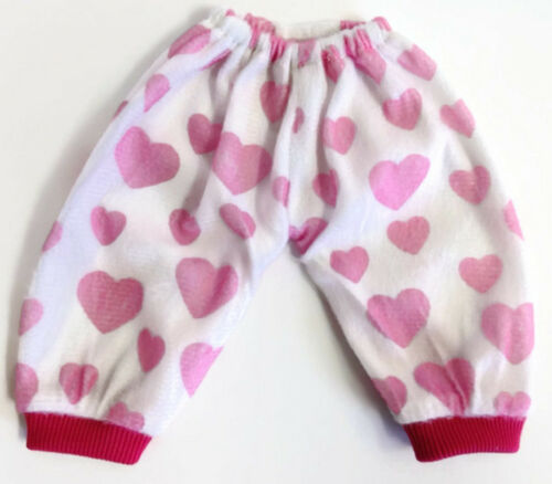 2 Pajamas Outfits Pink /& Purple fits 15 inch Bitty Baby /& Twin Doll Clothes