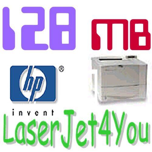 128MB HP LASERJET PRINTER MEMORY 4050 4050N 4050TN