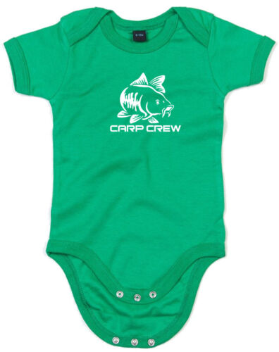 Carp Crew inspired Kids Printed Baby Grow for Baby Girl Boy Baby Shower Gift