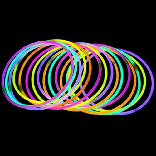 "300 22"" Glow Stick Necklaces Neon Colors Party Favors - FREE SHIPPING"