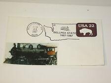 Bellpex Station Commemorative Envelope Bellingham, WA 1987