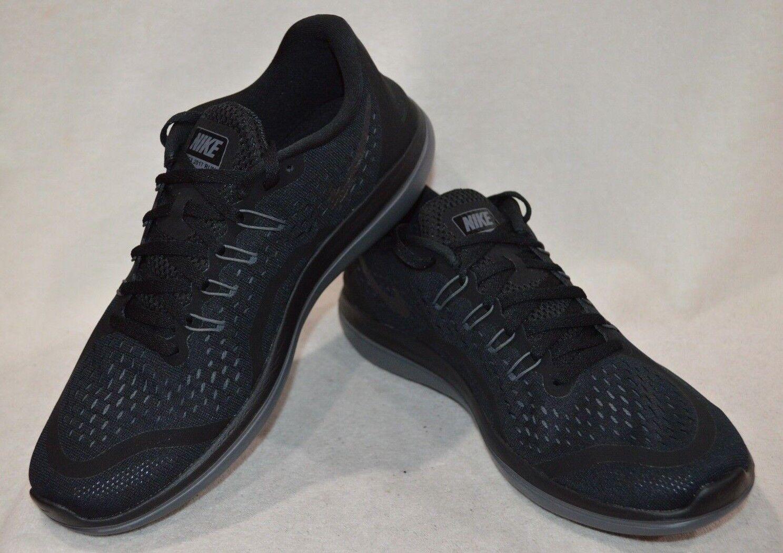 Nike Men's Flex 2017 RN Black Mtlc Hematite Anthr Running Running Running shoes-Asst Sizes NWB a7d18d