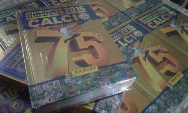 ALMANACCO ILLUSTRATO DEL CALCIO 2016 PANINI SIGILLATO!!