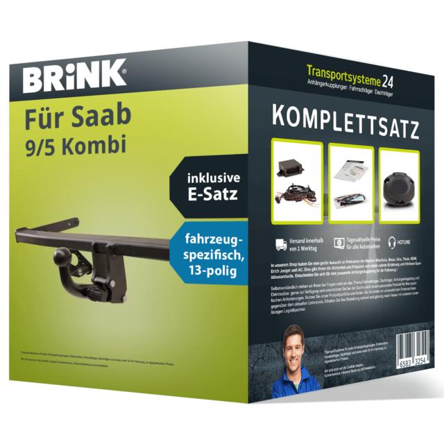 E-Satz Kit NEU AHK Anhängerkupplung BRINK abnehmbar für SKODA Superb Stufenheck
