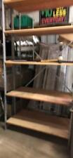 Backroom Shelving Meg 18 X 8 Amp 10 Lot 30 Wood Shelves Used Store Fixtures