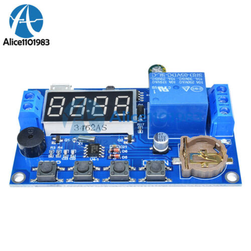 Real-time Relay Module Timing Switch Control Synchronization Delay Timer