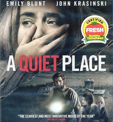 A Quiet Place 2018 Pg 13 Sci Fi Horror Movie New Blu Ray Dvd Dc Emily Blunt Ebay