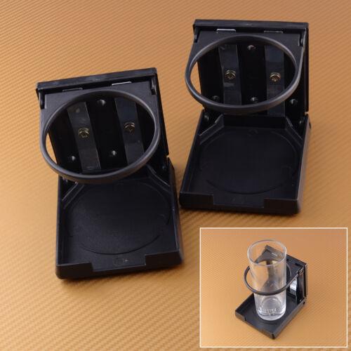 2pcs Universal Car Folding Drink Cup Holder Foldable Bottle Holder Truck Boat RV