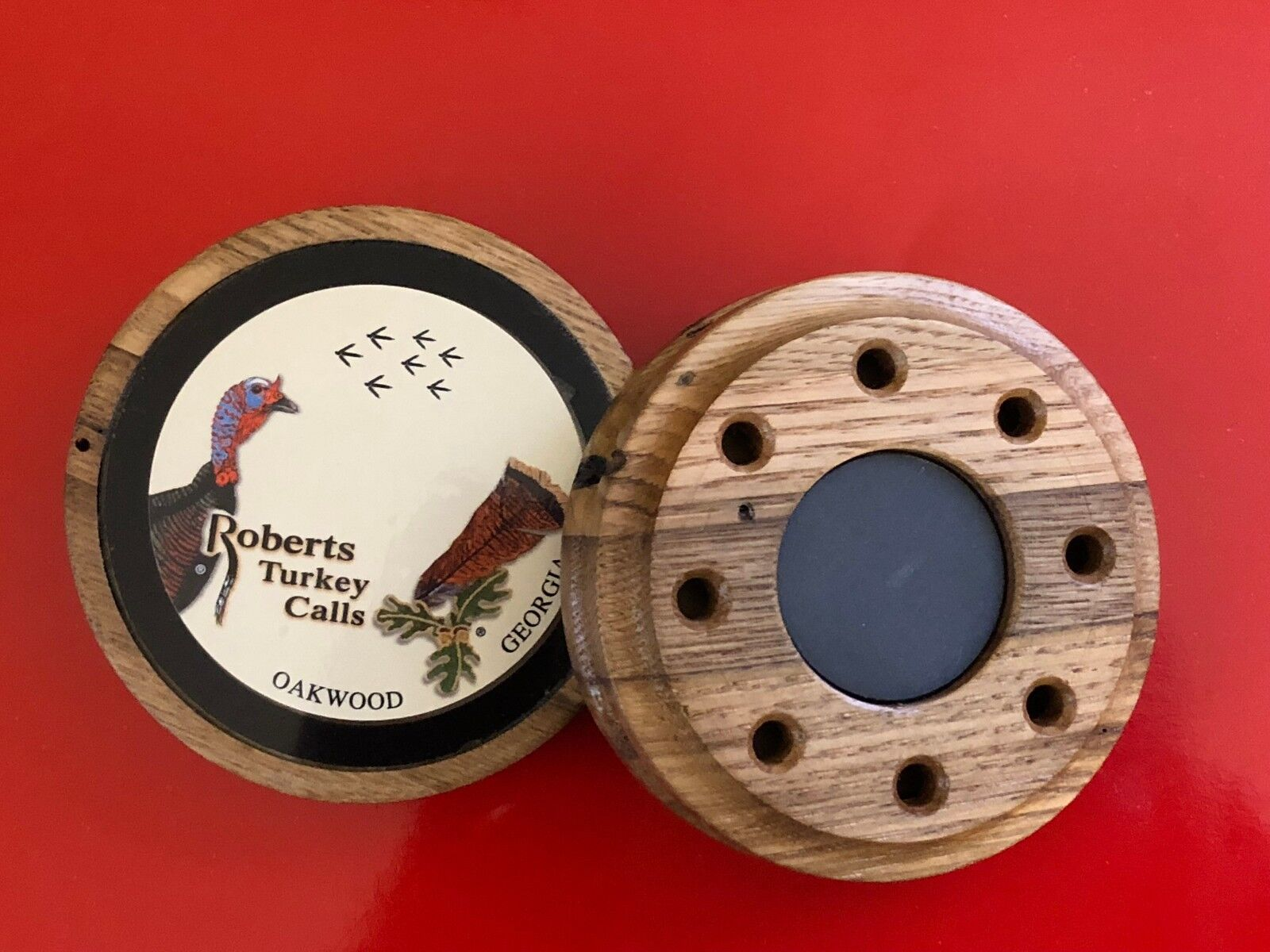 WORMY CHESTNUT 2-IN-1 FRICTION CALL - MOST POPULAR - ROBERTS TURKEY CALLS