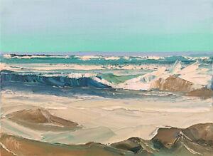 SHORE-TUBES-TWO-2019-Original-Expression-Seascape-Oil-Painting-9x12-034-020719-KEN