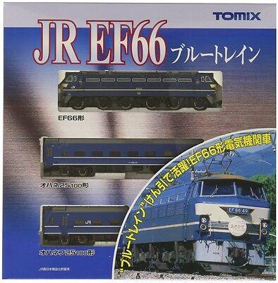 "Tomix 92332 JR Express \\\\\\\""Asakaze\\\\\\\"" with EF66 Locomotive (N scale)"