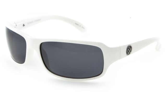 1cdfafaf59 FILTRATE Linoleum White Polarized Unisex Sunglasses