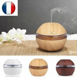 Arome-Diffuseur-Huiles-Essentielles-300ml-USB-Humidificateur-Ultrasons-Aromather