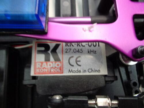 RadioKontrol Modellauto mit Fernsteuerung Lancia Delta Elektrisches Spielzeug