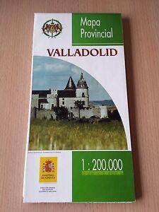 VALLADOLID-MAPA-PROVINCIAL-ESCALA-1-200-000-INSTITUTO-GEOGRAFICO-NACIONAL