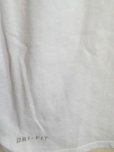 AUTHENTIC NIKE DRI-FIT ALWAYS BELIEVE WHITE T SHIRT 00036110X