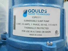 Goulds Gsp0311 Sump Amp Effluent Pump 3hp 1 12 Discharge New Damaged Box