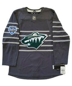 Details about NWT Minnesota Wild 2020 NHL All-Star Game Adidas Hockey Jersey Grey Men's Sz 42