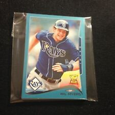 2014 TOPPS #1 TAMPA BAY RAYS *WAL-MART BLUE* TEAM SET 10 CARDS WIL MYERS +