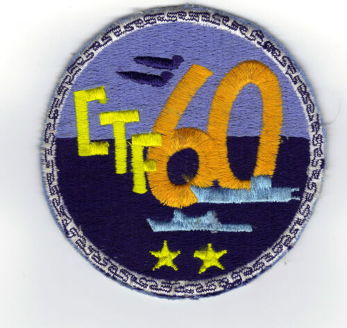 US Navy Squadron Patch CTF-60