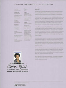 2005-55c-Forever-Gwen-Ifill-5432-Souvenir-Page