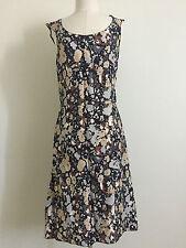 Joseph Christy Dawn Slim Silhouette Floral Camo Slip Dress Size 4/6