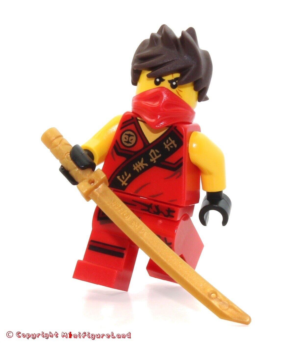 Ninjago Kai Sleeveless - Minifig // Mini Figure LEGO 70756