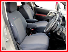 Tailored Seat covers for Peugeot Partner Van 1 + 1    2008 - on   PATTERN 3