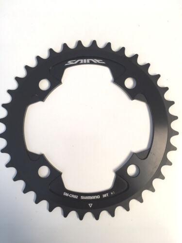 Shimano Saint SM-CR82 36t 10 Speed 104 BCD Chainring 36 Tooth