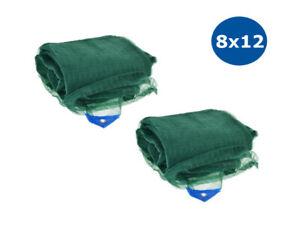 2 Reti per raccolta olive telo 8x12 mt antispina e antistrappo 90 grammi mq