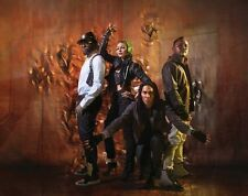 The Black Eyed Peas UNSIGNED photo -H1510- Fergie, will.i.am, Taboo & apl.de.ap