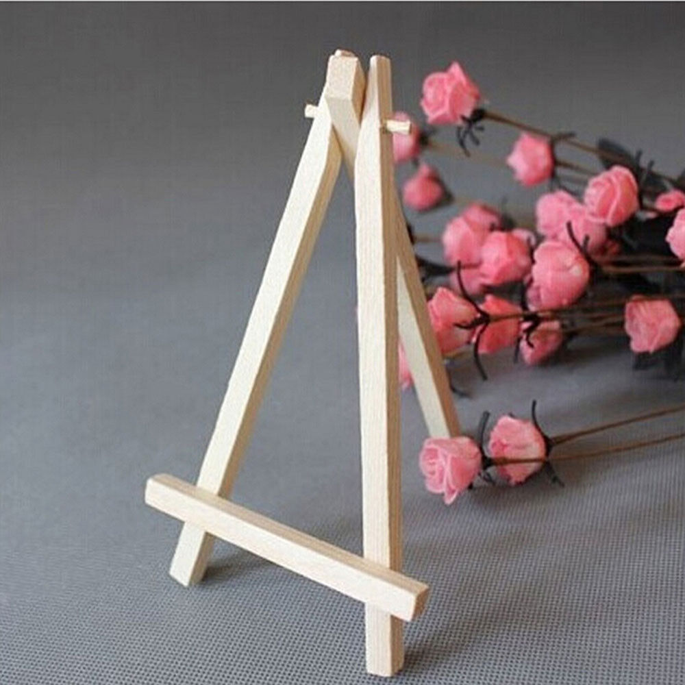 Mini Artist Wooden Easel Wedding Table Card Stand Display Holder For Party Decor