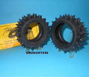 Tamiya-Rear-Spike-Tire-CRP-Dynamite-4228-Hot-Shot-Boomerang-FOX-Vintage-RC-part