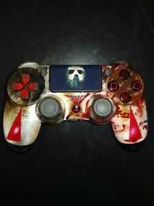 ps4 dualshock 4 controller jason voorhees edition friday the