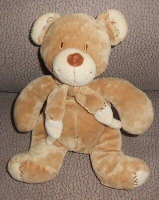 Baby Plüschtier Bär Boy /& Girl von Nicotoy Teddy 27 cm Kuscheltier Mädchen Junge