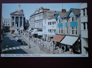 POSTCARD CORNWALL PENZANCE  MARKET JEW STREET - Tadley, United Kingdom - Full Refund less postage if not 100% satified Most purchases from business sellers are protected by the Consumer Contract Regulations 2013 which give you the right to cancel the purchase within 14 days after the day you receive th - Tadley, United Kingdom