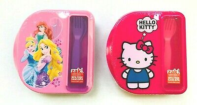 Hello Kitty Bento Lunch Box Plastic Pink 4 Compartments Zak Designs