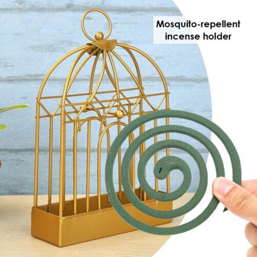 Nordic Style Retro Metal Mosquito Coil Creative Birdcage Decoration Frame Rack